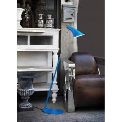 lampadaire liseuse VANILA bleu Haut 129cm E14 40w maxi avec interrupteur marque  Nordlux ref 72704006