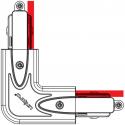 Jonction coude 90° pour rail