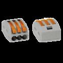 Etanchéité: 1 connecteur étanche + 3 bornes