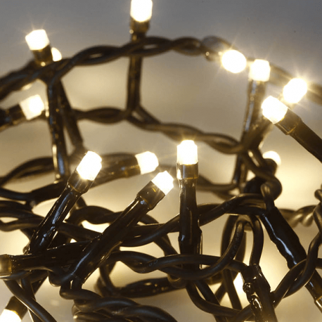 Guirlande 60 LEDs statique 2,5m 3000K
