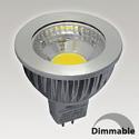 Ampoule GU5.3 6W - 3000K - 75°