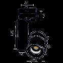 Projecteur Venus 3000lm - 4000K - 40°