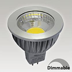 Ampoule GU5.3 6W - 4000K - 75°