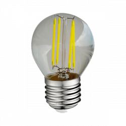 Ampoule LED E27 G45 Filament 4W 6000K