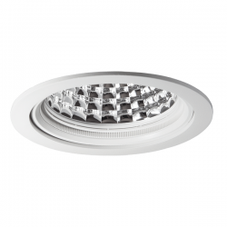 Spot led encastrable Roy 3000lm - 3000K - 57°