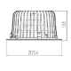 Downlight Thinled 2400lm - 4000K - 90°