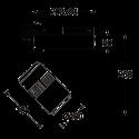 Projecteur Delta  2200lm - 4000K - 42°
