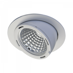 Spot led encastrable Smogled 3000lm - 3000K - 27°