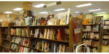 Réalisation de l'éclairage d'une librairie